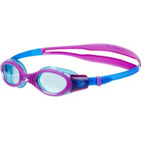 speedo Futura Biofuse Flexiseal Goggles Kids, newsurf/purplevibe/peppermint
